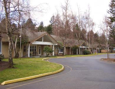 Pacifica Senior Living Lynnwood's entrance