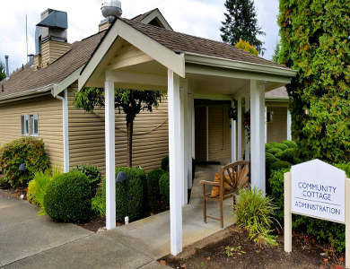 Community cottage at Pacifica Senior Living Snohomish