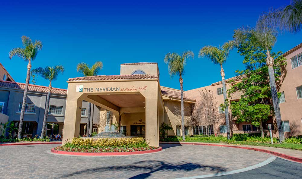 Front of The Meridian at Anaheim Hills