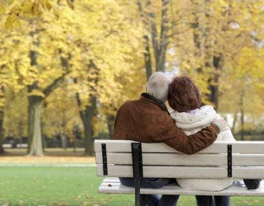 Couple living in Pacifica Senior Living Pinehurst