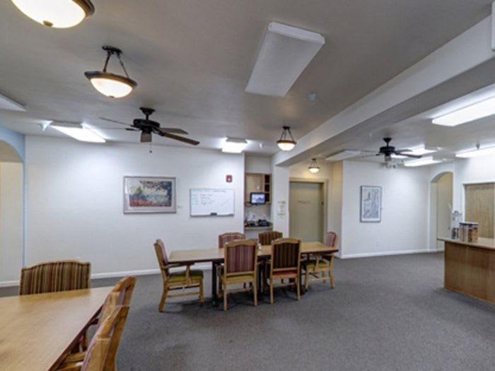 common hall at Pacifica Senior Living Vancouver in Vancouver, WA