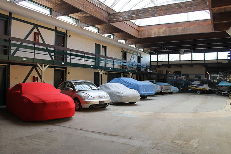 Indoor storage at A-1 Car Storage
