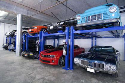Car storage at A-1 Car Storage - San Diego