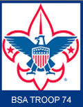 Sponsor BSA Troop 74