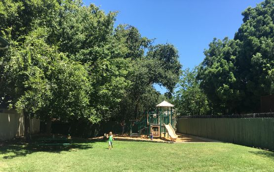 On-site playground at Fairwood Apartments
