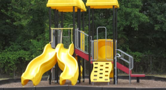 On-site playground at City Line Apartments