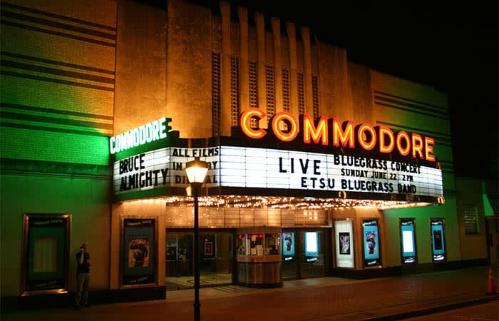 Theater in Portsmouth near Harbor Vista
