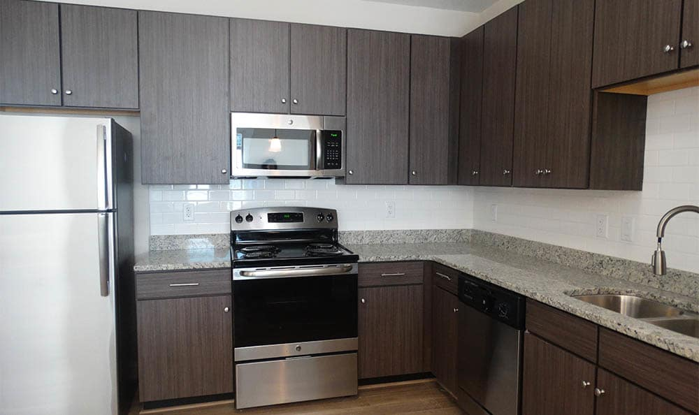 Stainless Steel Appliances At Harbor Vista
