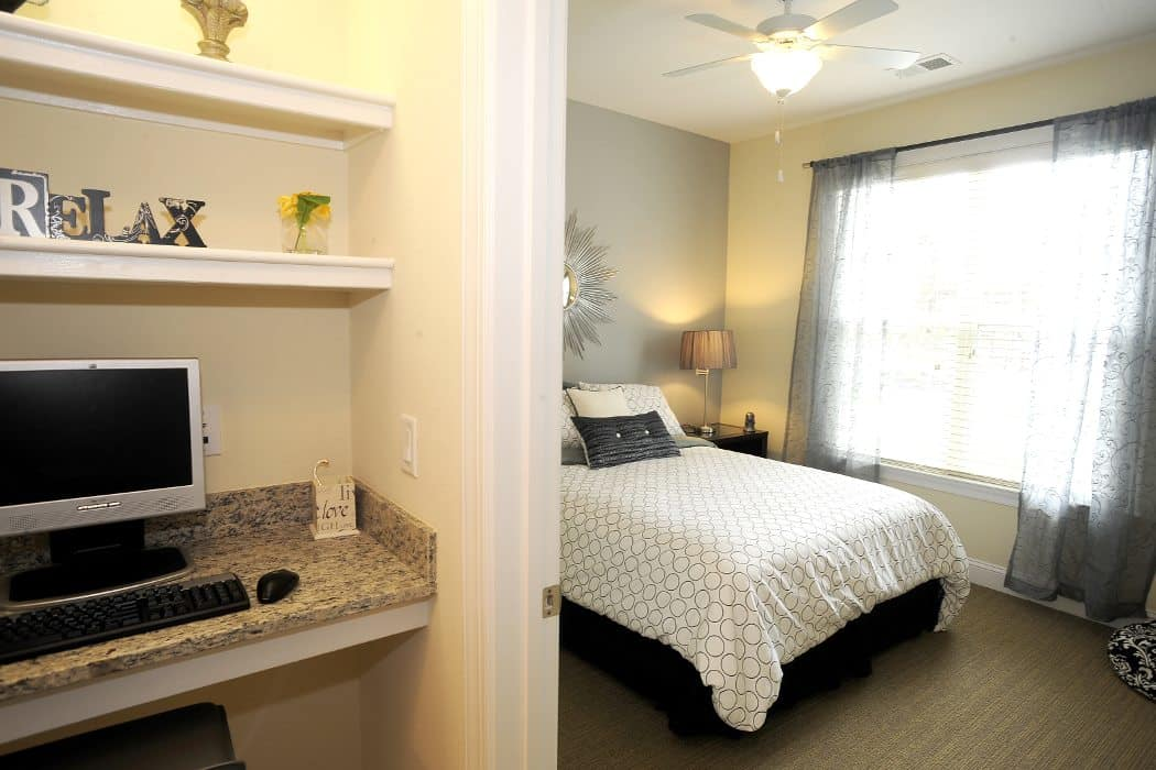 Spacious bedrooms at Cambria at Cornerstone in Virginia Beach