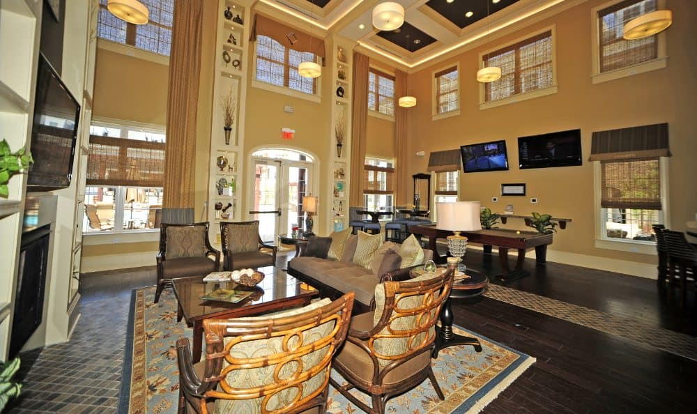 Lobby at Cambria at Cornerstone