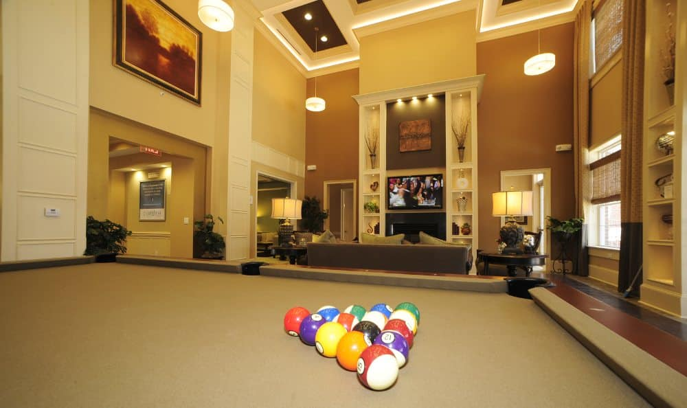 Billiards at Cambria at Cornerstone