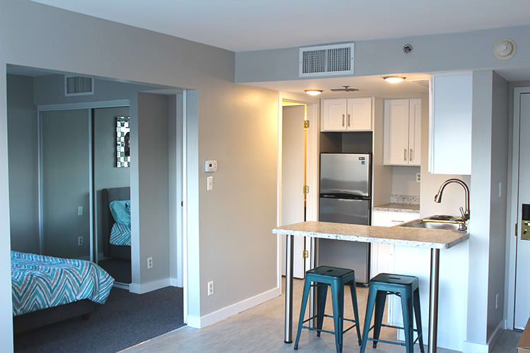 Flats at 390 has open floor plans