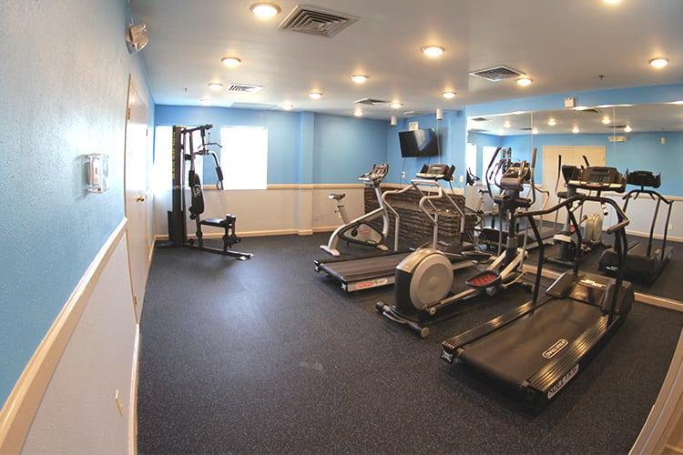 Flats at 390 gym