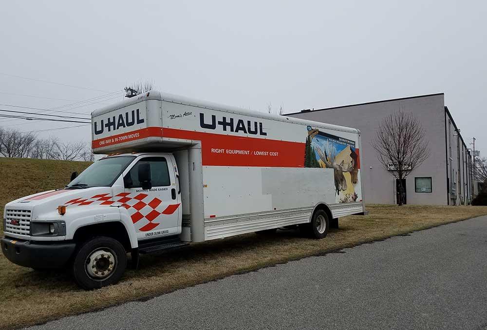Winter's Storage offers Uhaul rentals.