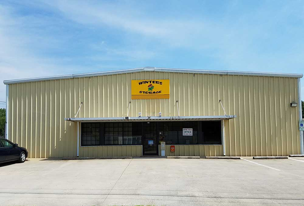 Winter's Storage is located in Oxford, North Carolina.