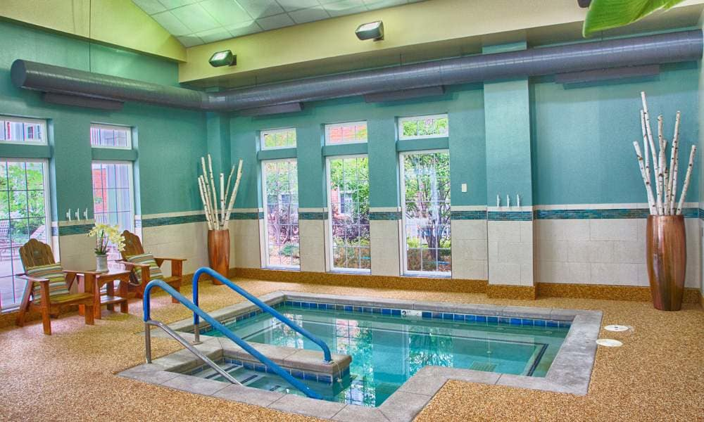 Pool at Holly Creek Retirement Community in Centennial