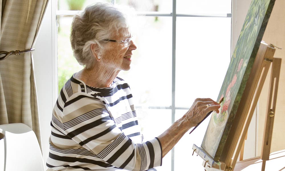 Paint at Holly Creek Retirement Community