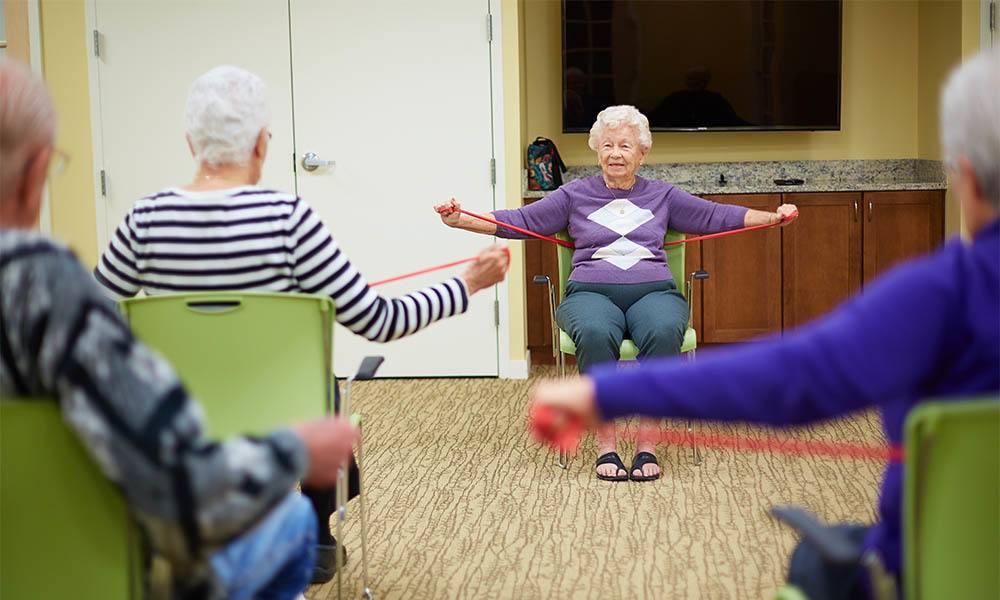 fittness classes at Bella Vita