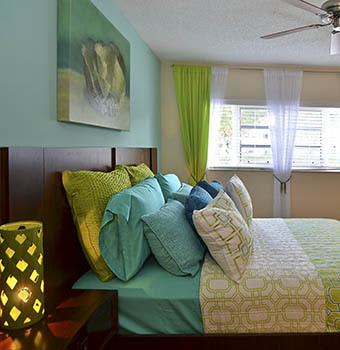 View our spacious floor plans offered at Cypress Club Apartments