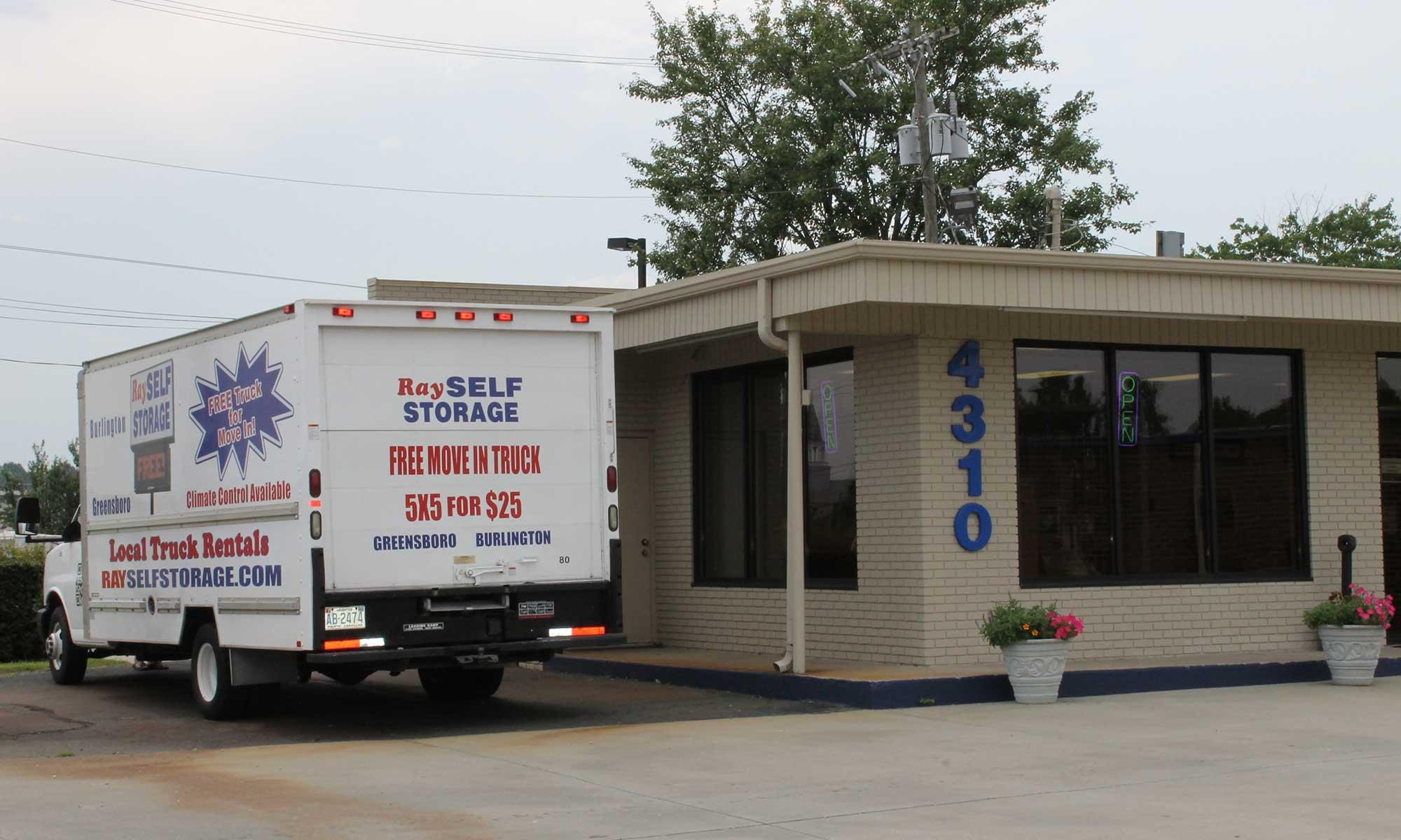 Self Storage Greensboro North Carolina Ray Gcb Ss Hero
