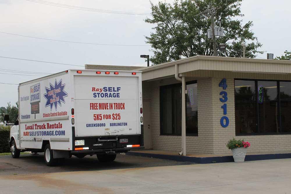 Ray Self Storage is located in Greensboro, North Carolina.