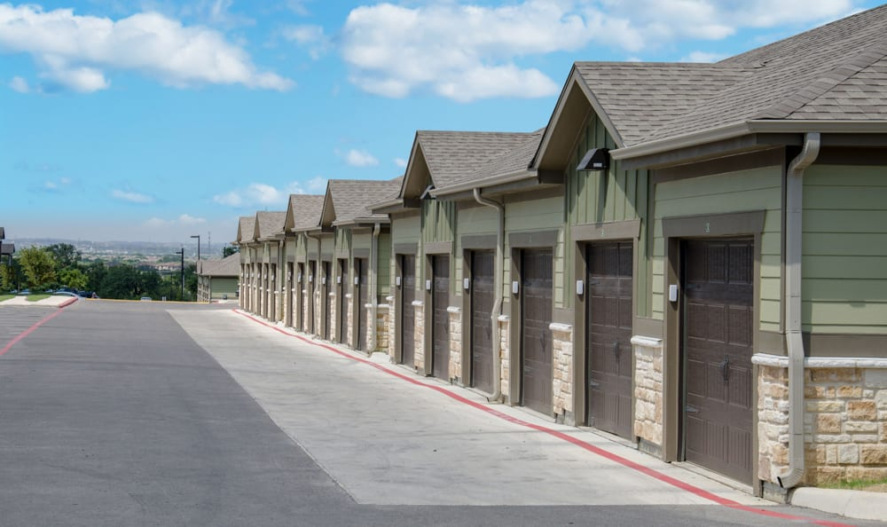 Detached Garages At Springs at Alamo Ranch Apartments