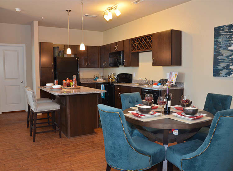 Springs at Alamo Ranch Apartments open floor plans in San Antonio