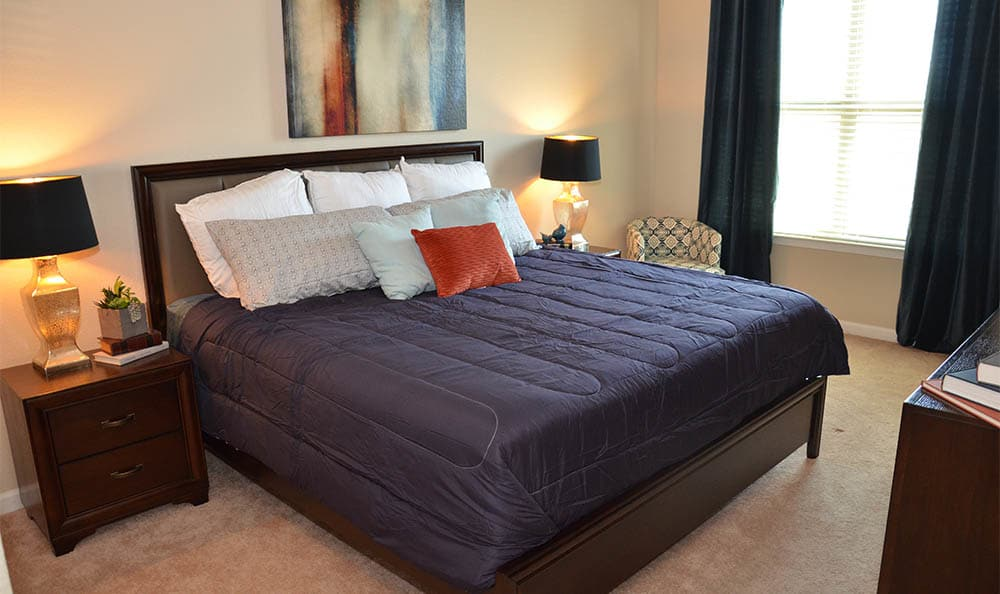 Springs at Alamo Ranch Apartments Master Bedroom In San Antonio
