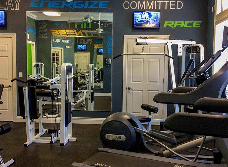 Fitness Center At Springs at Bandera Apartments