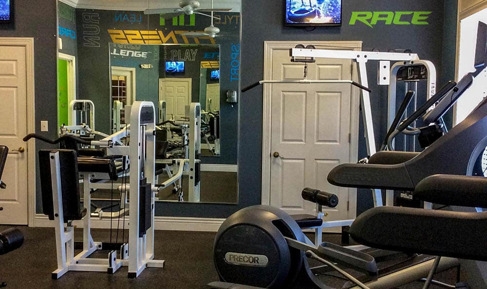 Fitness Center At Springs at Bandera Apartments