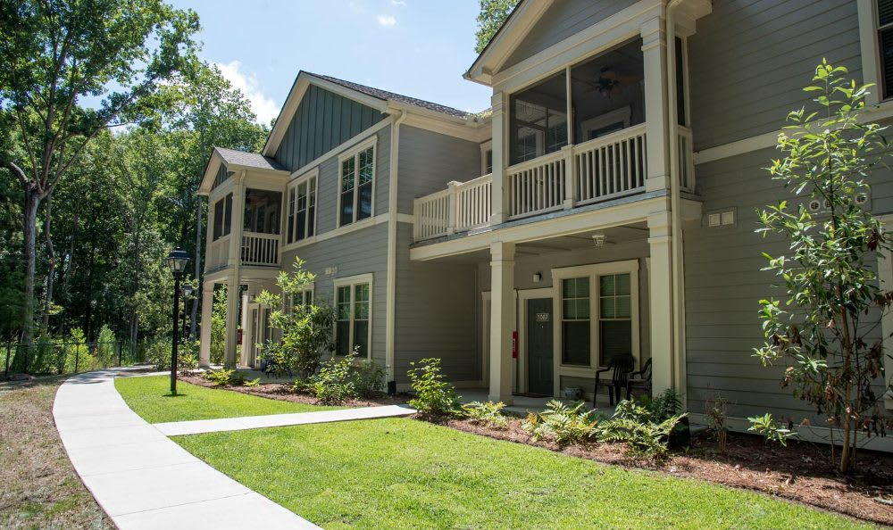 Exterior of apartment home at Springs at Country Club Apartments in Lake Charles