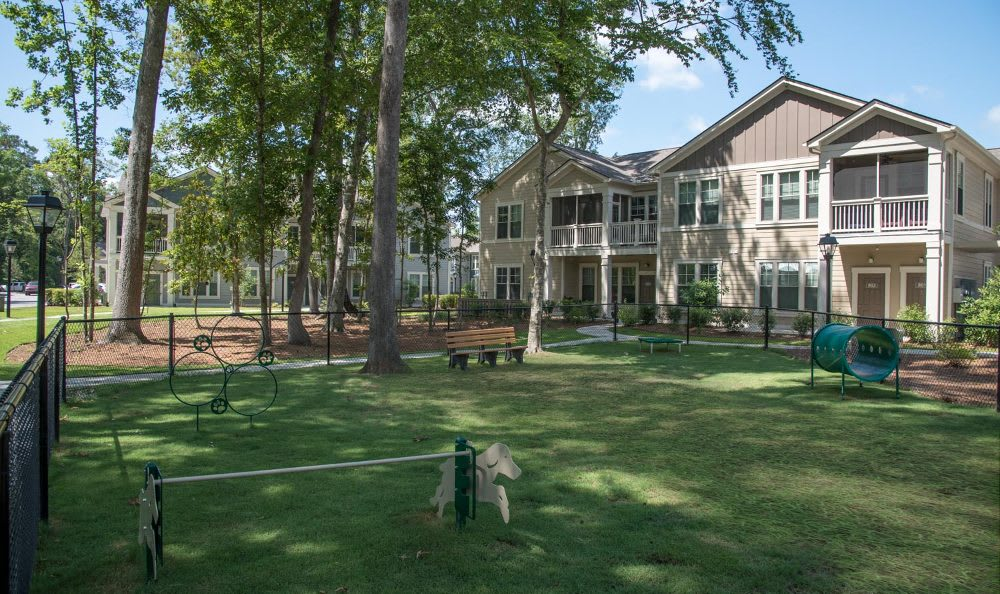 Playground at Springs at Country Club Apartments in Lake Charles