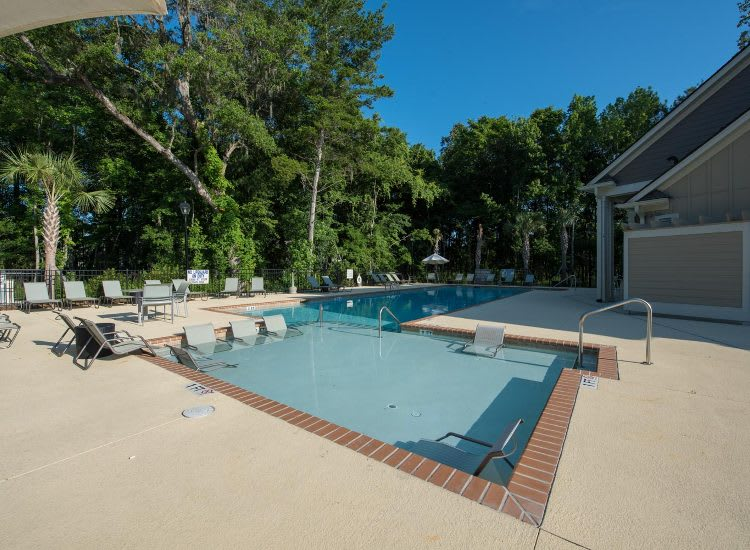Enjoy our pool at Springs at Country Club Apartments in Lake Charles