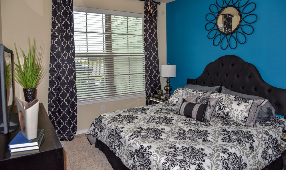 Bedroom at Springs at Fremaux Town Center Apartments in Slidell