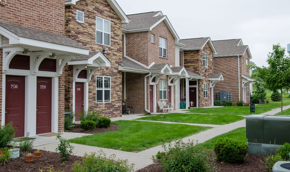Apartment homes at Springs at Jordan Creek in West Des Moines
