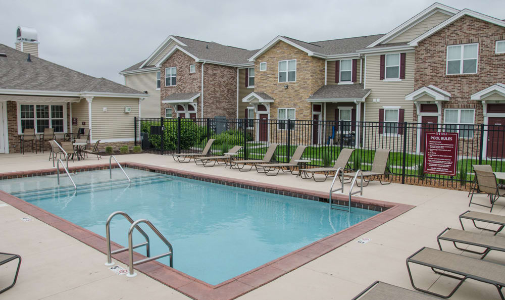 Enjoy the pool at Springs at Jordan Creek in West Des Moines