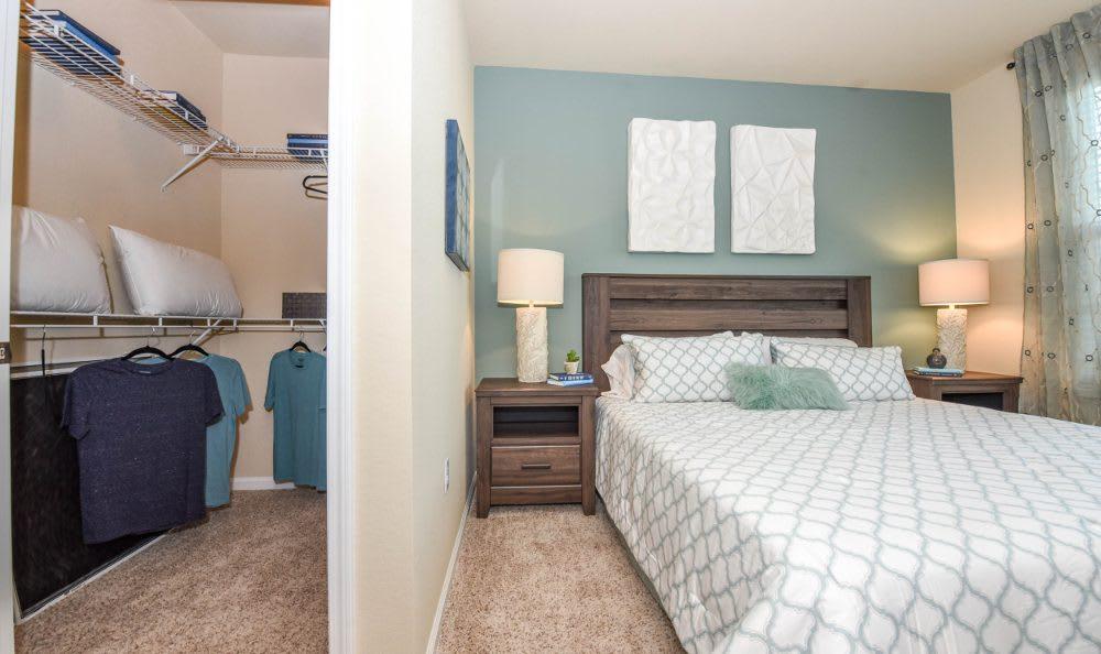 Bedroom With Walk In Closet At Springs At Kenosha Photo