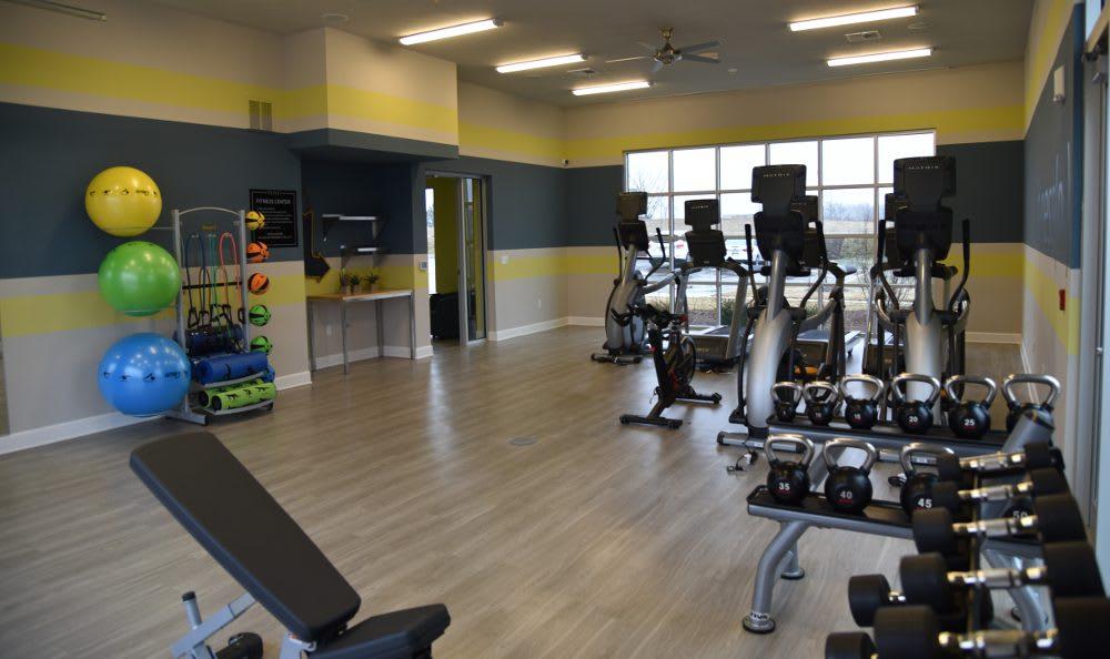 Fitness Center At Springs At Kenosha Photo