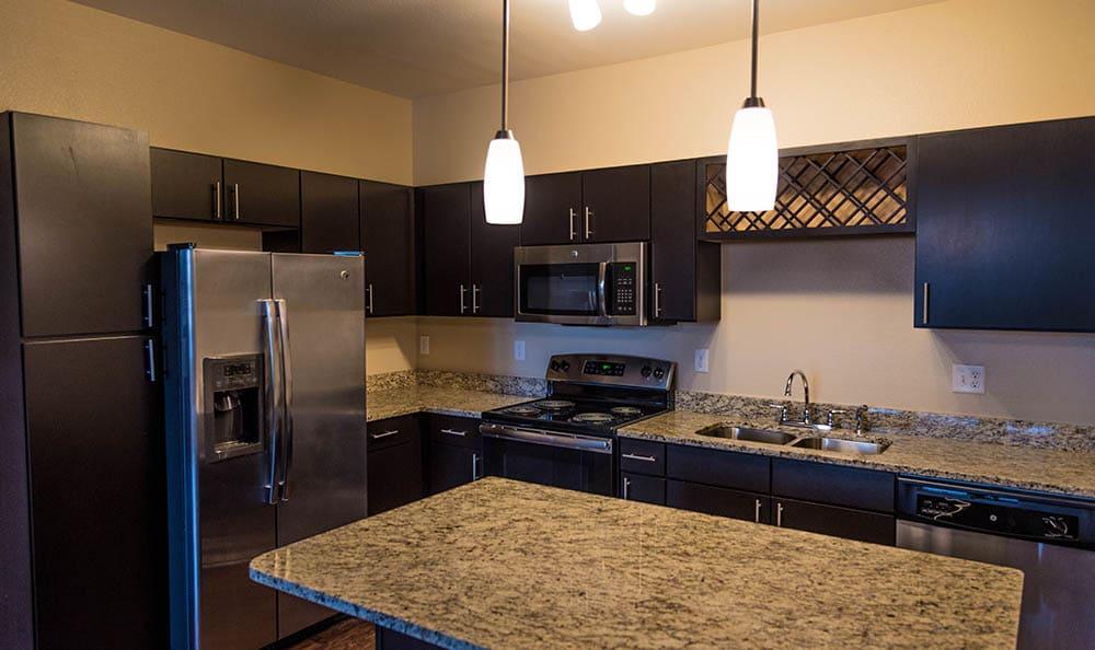 Kitchen Appliances At Springs at Kenosha Apartments