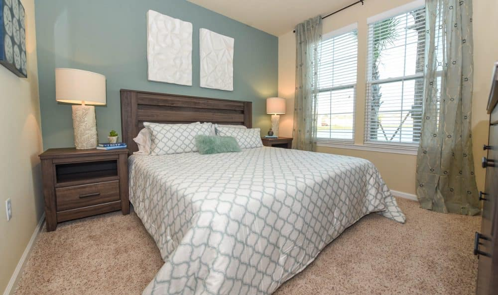 Bedroom at Springs at Liberty Township Apartments in Liberty Township