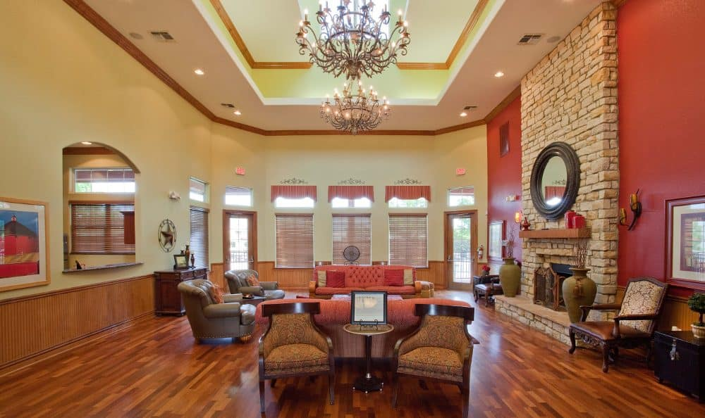 Clubhouse multi-purpose area at Springs at Live Oak Apartments