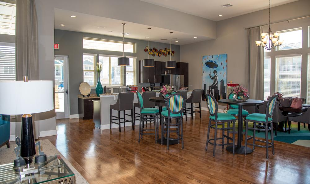 clubhouse interior at Springs at River Chase Apartments in Covington, LA