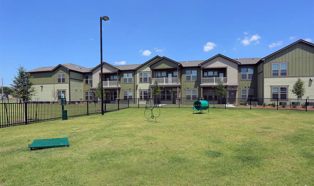 Dogpark At Springs at Woodlands South Apartments In Tulsa