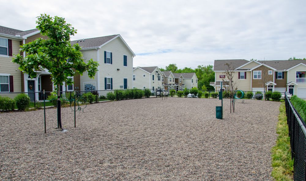 Pet playground at Springs at Bettendorf