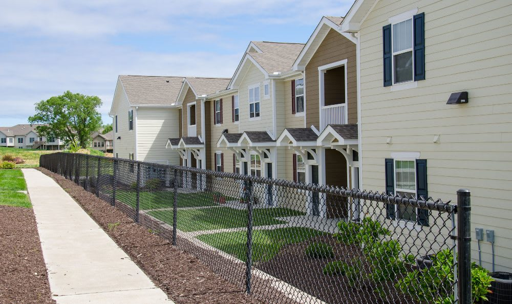 Apartment buildings at Springs at Bettendorf