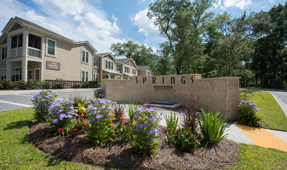 entrance at Springs at Essex Farms in Charleston, SC