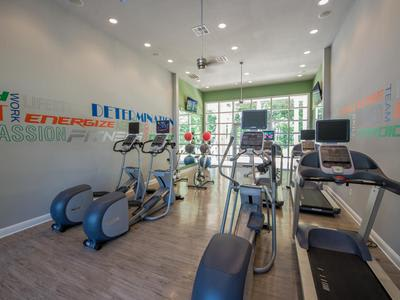 Fitness center at Springs at Essex Farms in Charleston