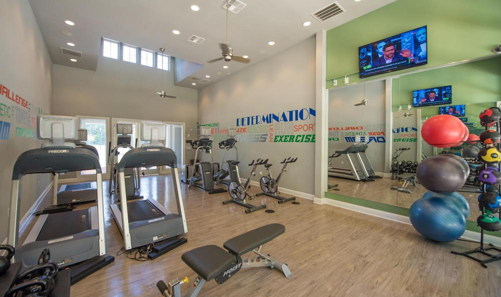fitness center at Springs at Essex Farms in Charleston, SC