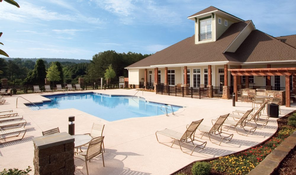Clubhouse pool at Springs at Greystone in Birmingham