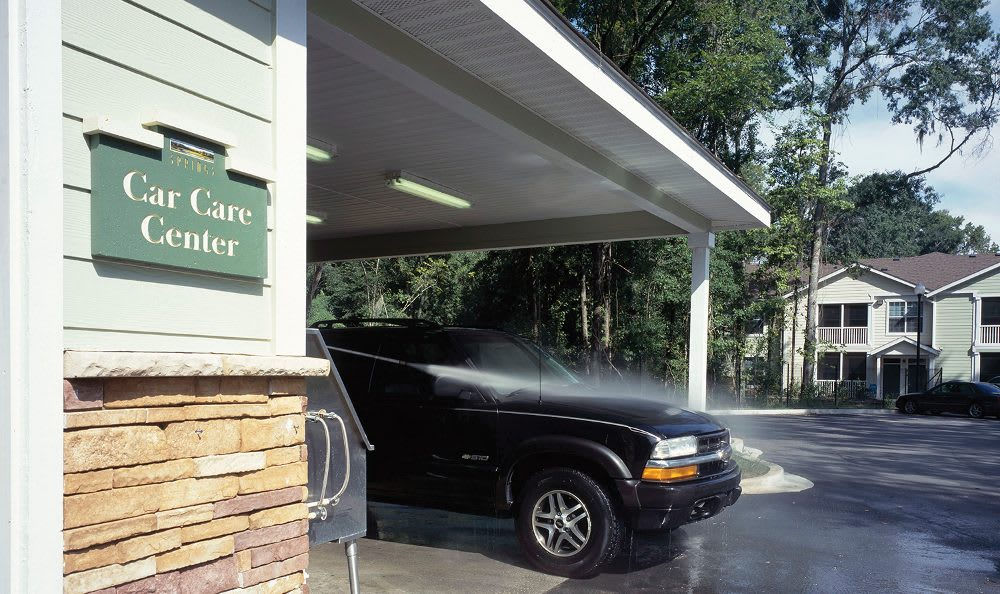 Car care center at Springs at Greystone in Birmingham